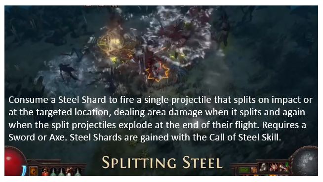 Splitting Steel