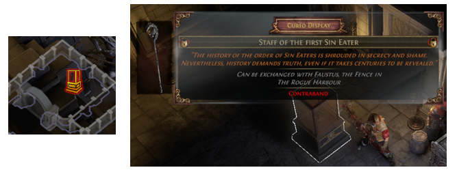 Staff of the first Sin Eater Location