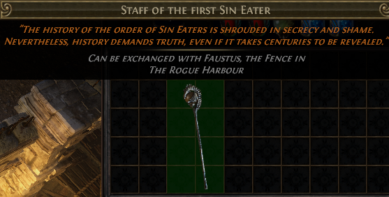 Staff of the first Sin Eater