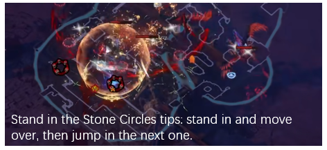 Stand in the Stone Circles Strategy