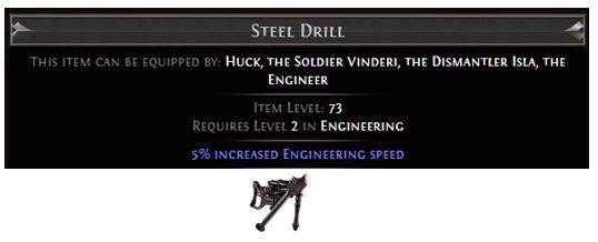 Steel Drill