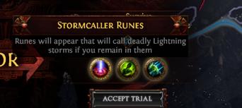 Stormcaller Runes