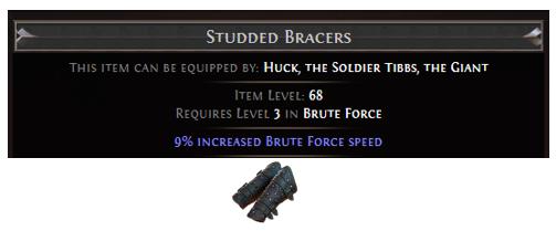 Studded Bracers
