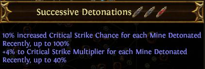 Successive Detonations PoE