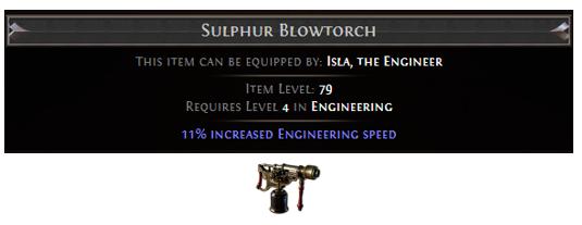 Sulphur Blowtorch