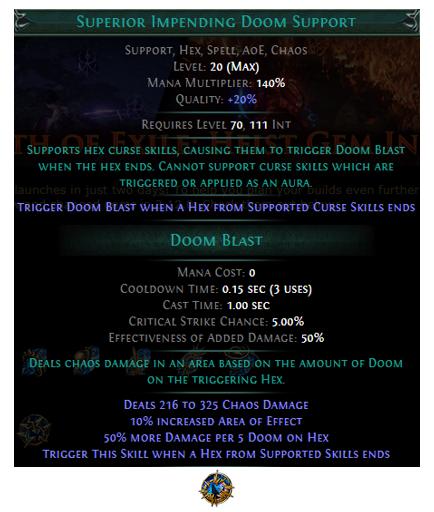 Superior Impending Doom Support