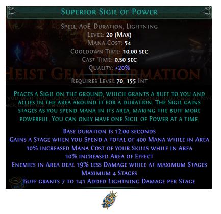 Superior Sigil of Power