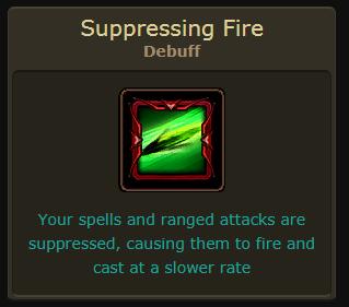 Suppressing Fire