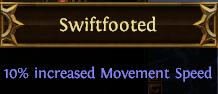 Swiftfooted PoE