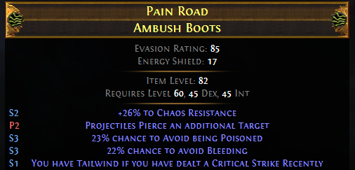 Tailwind Boots Mods