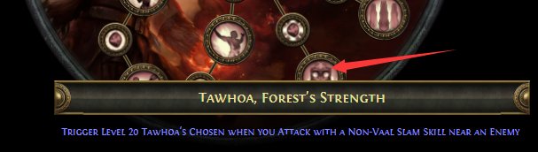 Tawhoa, Forest's Strength