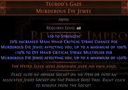 Tecrod's Gaze