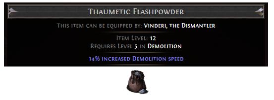 Thaumetic Flashpowder