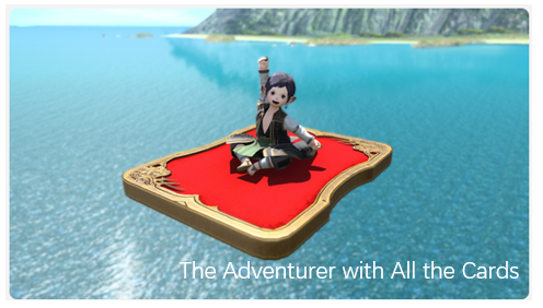 The Adventurer with All the Cards FFXIV