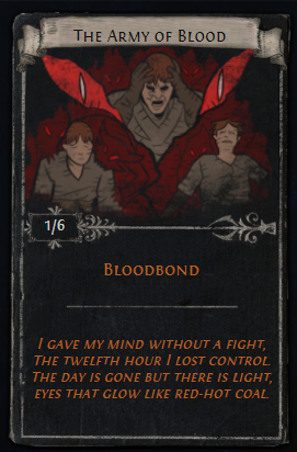 The Army of Blood