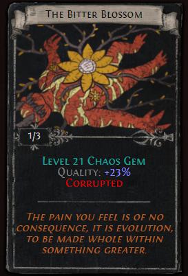 The Bitter Blossom