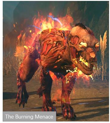 The Burning Menace PoE
