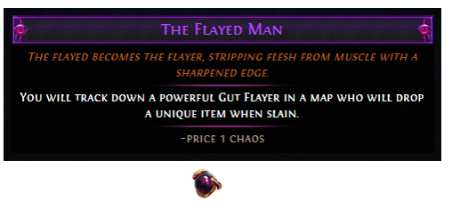 Bino S Kitchen Knife Prophecy The Flayed Man Poe