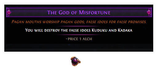 The God of Misfortune