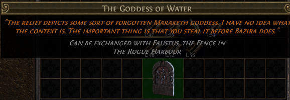 The Goddess of Water