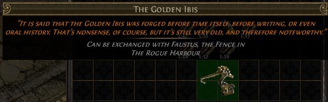 The Golden Ibis