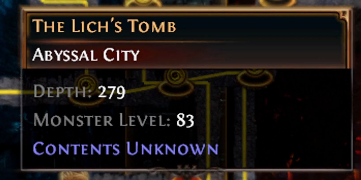 The Lich's Tomb