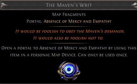 The Maven's Writ