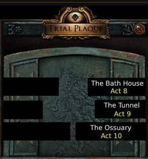 The Merciless Labyrinth Locations
