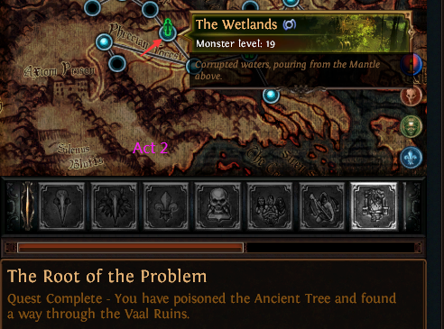 The Root Of The Problem Poe Quest Walkthrough Location Reward Optimized for neversink's filter and offers a rich customization ui for new and veteran poe players. poe currency