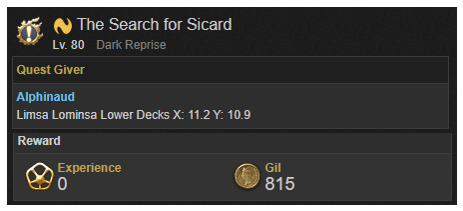 The Search for Sicard