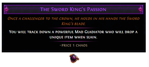 The Sword King's Passion