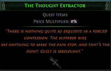 The Thought Extractor