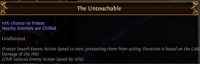 The Untouchable PoE