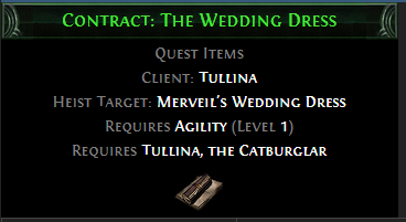 Contract: The Wedding Dress