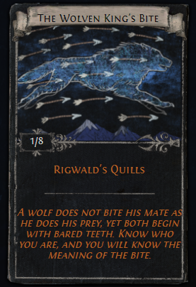The Wolven King's Bite