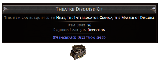 Theatre Disguise Kit