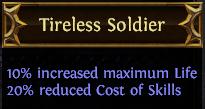 Tireless Soldier PoE