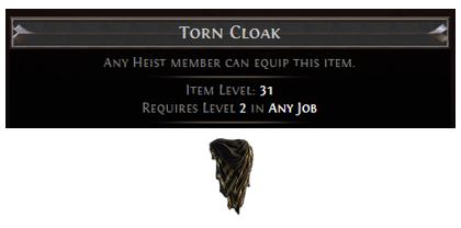 Torn Cloak