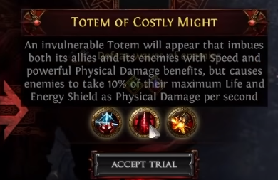 Totem of Costly Might