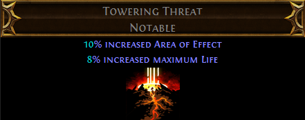 Towering Threat PoE