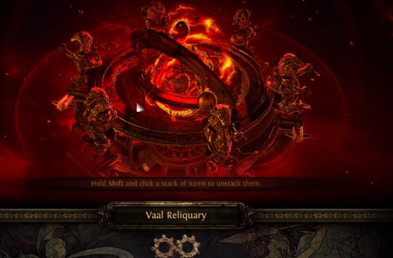Travel to Vaal Reliquary