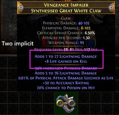 Two Implicit item