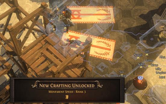 Unlock Rank 3 Movement Speed