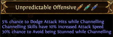 Unpredictable Offensive PoE