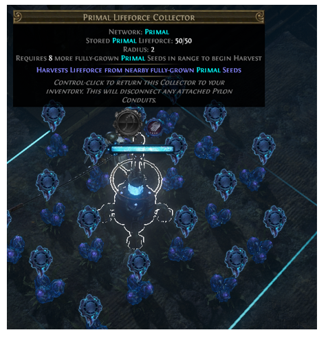Use Primal Lifeforce Collector