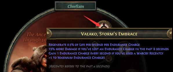 Valako, Storm's Embrace