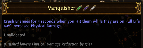Vanquisher PoE