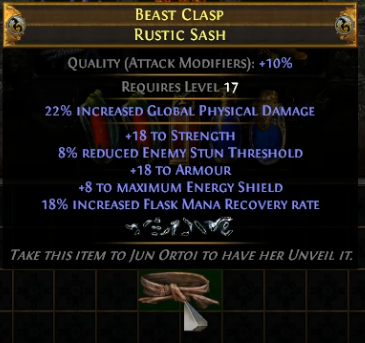 Veiled Chaos Orb Reforge