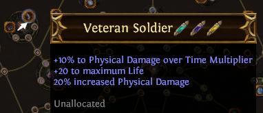 Veteran Soldier PoE