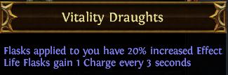 Vitality Draughts PoE